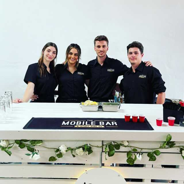 Wedding day Reception 👰🤵- Saturday the 13th of March - Mortdale . Congratulations to the happy couple . The event team Jordan, Jessica, Skye and Juliano . Dj @yeahdjzee  . #themobilebarco #bartenders #mobilebars #bartending #mobilebarservice #bar #parties #functions #events #specialevent #party #weddingday #lebanese #sydney #wedding #groom #predrinks #topshelf #alcohol #weddingdress #sydneyevents #barhire #events #gettingmarried #drinks #cheers #family #friends #husbandandwife . Event 1 of 4.