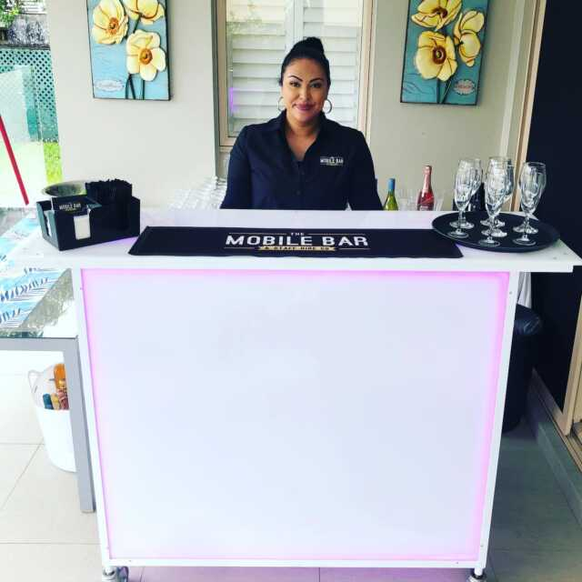 Wedding day 👰 Brides house - Saturday the 21st of March - In Belfield . Bartender Lucia mixing it up on the white Led bar . Hairdresser @dompellihair  . #themobilebarco #bartenders #mobilebars #bartending #mobilebarservice #bar #parties #functions #events #specialevent #party #weddingday #lebanese #sydney #wedding #groom #predrinks #topshelf #alcohol #weddingdress #sydneyevents #barhire #events #gettingmarried #drinks #cheers #family #friends #husbandandwife @brideshouse . Event 2 of 3.