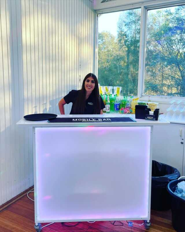 Celebrating a 12th Birthday on the 4th of April - Chipping Norton Boat Shed . Our Mixologists Tara mixing up Mocktails 🍹 🍸 on the white Led bar . Karaoke machine and Photobooth @oneroundentertainment  . #mocktail #celebrations #birthday #ledbar #eventplanner #sydneyevents #sydney #party #events #milestone #instaevent #birthdaygirl #bartenderlife #mobilebarhire #themobilebarco #drinks #friends #family #lemonandmint  #passionfruit #strawberryblast  . Event no: 1 of 2.